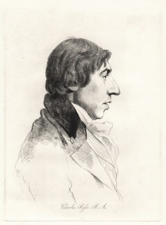 John Charles Felix Rossi, by William Daniell, after  George Dance - NPG D12097