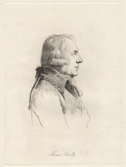 Thomas Sandby, by William Daniell, after  George Dance - NPG D12100