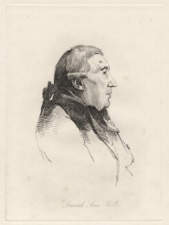 Dominic Serres, by William Daniell, after  George Dance, (11 March 1793) - NPG D12101 - © National Portrait Gallery, London