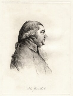 John Yenn, by William Daniell, after  George Dance - NPG D12111