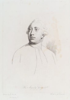 King George III, by William Daniell, after  Nathaniel Dance (later Sir Nathaniel Holland, Bt) - NPG D12112