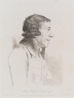 Horace Walpole, by William Daniell, after  George Dance, published 1 November 1808 (13 July 1793) - NPG D12113 - © National Portrait Gallery, London
