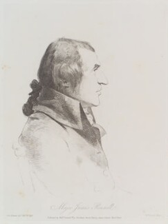 James Rennell, by and published by William Daniell, after  George Dance - NPG D12115