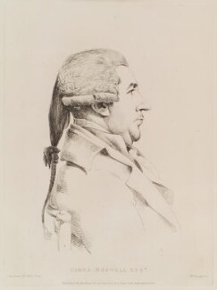 James Boswell, by William Daniell, after  George Dance - NPG D12117