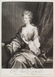 Ann Roydhouse, by and published by John Smith, after  Sir John Baptist De Medina, 1701 - NPG  - © National Portrait Gallery, London