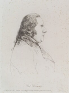 George Legge, 3rd Earl of Dartmouth, by William Daniell, after  George Dance - NPG D12119