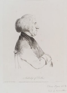Charles Agar, 1st Earl of Normanton, by William Daniell, after  George Dance - NPG D12125