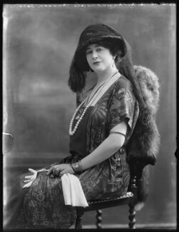 Princess Ola Hassan (née Ola Humphrey), by Bassano Ltd, 26 May 1920 - NPG x120603 - © National Portrait Gallery, London