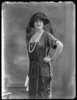 Princess Ola Hassan (née Ola Humphrey), by Bassano Ltd, 26 May 1920 - NPG x120605 - © National Portrait Gallery, London