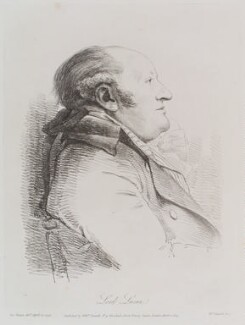 Charles Bingham, 1st Earl of Lucan, by William Daniell, after  George Dance - NPG D12127