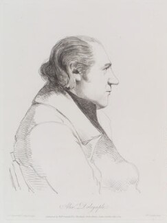 Alexander Dalrymple, by William Daniell, after  George Dance - NPG D12132
