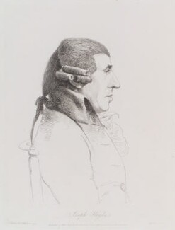 Joseph Haydn, by William Daniell, after  George Dance, published 1 July 1809 (20 March 1794) - NPG  - © National Portrait Gallery, London