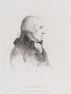 Benjamin West, by William Daniell, after  George Dance - NPG D12138