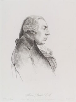 Thomas Banks, by William Daniell, after  George Dance - NPG D12141