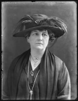 Ada Christina (née Lucy), Lady Cameron-Ramsay-Fairfax-Lucy, by Bassano Ltd - NPG x78630