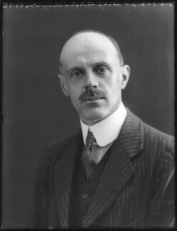 Sir Henry William Cameron-Ramsay-Fairfax-Lucy, 3rd Bt, by Bassano Ltd - NPG x78632