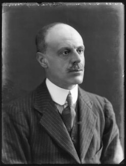 Sir Henry William Cameron-Ramsay-Fairfax-Lucy, 3rd Bt, by Bassano Ltd - NPG x78633