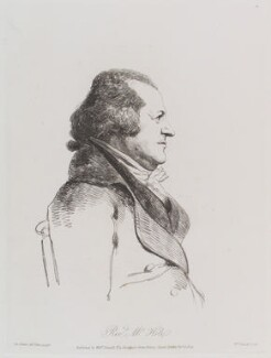Richard Hole, by William Daniell, after  George Dance - NPG D12146