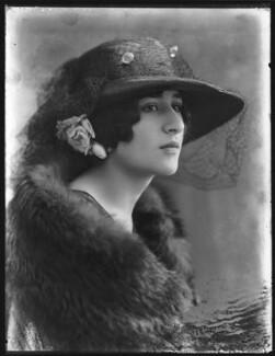 Princess Balasa Marie Blanche Cantacuzène, by Bassano Ltd - NPG x78637
