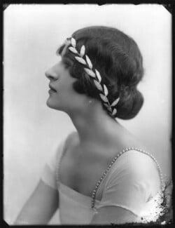 Princess Balasa Marie Blanche Cantacuzène, by Bassano Ltd - NPG x78638