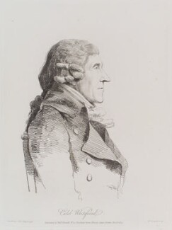 Caleb Whitefoord, by William Daniell, after  George Dance - NPG D12147