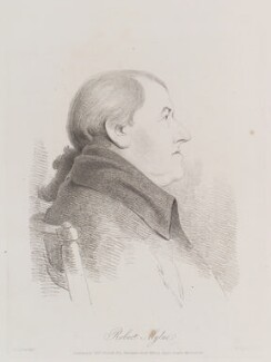 Robert Mylne, by William Daniell, after  George Dance - NPG D12149