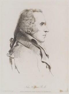 John Hoppner, by William Daniell, after  George Dance, published 15 March 1810 (10 November 1793) - NPG D12150 - © National Portrait Gallery, London