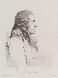 John Philip Kemble, by William Daniell, after  George Dance - NPG D12151