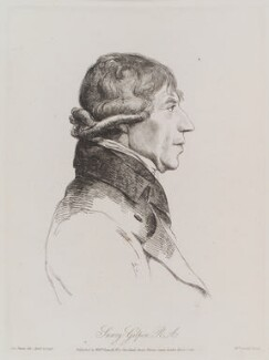 Sawrey Gilpin, by and published by William Daniell, after  George Dance - NPG D12152