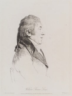 William Thomas Lewis, by William Daniell, after  George Dance, published 15 March 1810 (28 October 1798) - NPG D12154 - © National Portrait Gallery, London