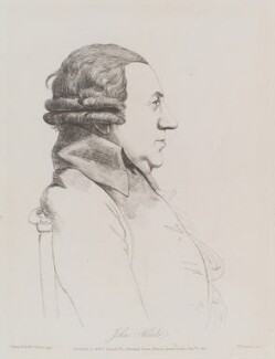 John Hoole, by and published by William Daniell, after  George Dance - NPG D12156