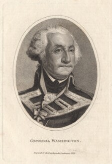 George Washington, after Gilbert Stuart, published 1828 - NPG D8480 - © National Portrait Gallery, London