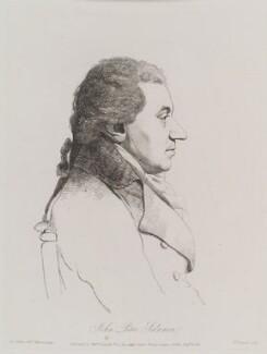 Johann Peter Salomon, by William Daniell, after  George Dance - NPG D12159