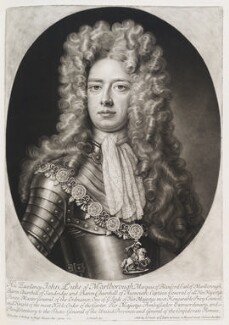John Churchill, 1st Duke of Marlborough, by and published by John Smith, after  Sir Godfrey Kneller, Bt, 1705 (1705) - NPG D11542 - © National Portrait Gallery, London