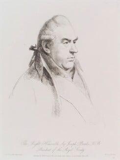 Sir Joseph Banks, Bt, by William Daniell, after  George Dance, published 1 June 1811 (27 June 1803) - NPG D12161 - © National Portrait Gallery, London