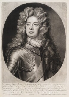 John Churchill, 1st Duke of Marlborough, by and published by John Smith, after  Sir Godfrey Kneller, Bt, 1703 (circa 1700-1703) - NPG D11543 - © National Portrait Gallery, London