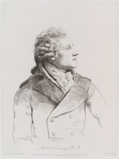 Richard Cosway, by William Daniell, after  George Dance - NPG D12165