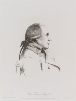 John Francis Rigaud, by William Daniell, after  George Dance - NPG D12169
