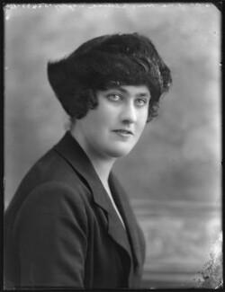 Hon. Lettice Theresa Tatham (née Digby), by Bassano Ltd - NPG x78643