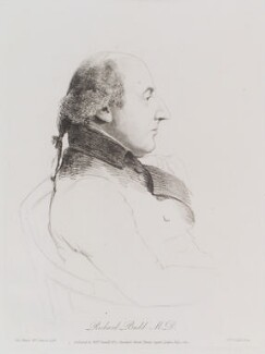 Richard Budd, by William Daniell, after  George Dance - NPG D12171
