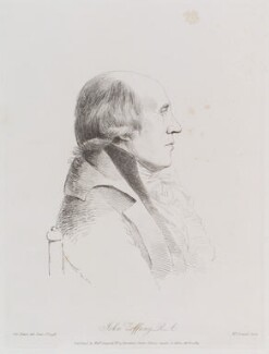 Johan Joseph Zoffany, by William Daniell, after  George Dance, published 2 April 1814 (1 June 1793) - NPG D12175 - © National Portrait Gallery, London