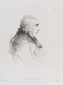 James Caulfeild, 1st Earl of Charlemont, by William Daniell, after  George Dance - NPG D12180