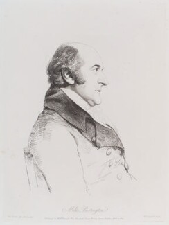 Miles Partington, by William Daniell, after  George Dance - NPG D12181