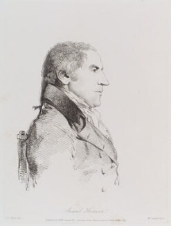 Samuel Harrison, by and published by William Daniell, after  George Dance - NPG D12182