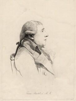 Francesco Bartolozzi, by William Daniell, after  George Dance, 2 April 1814 (28 August 1798) - NPG D12186 - © National Portrait Gallery, London