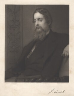 Lord Frederick Charles Cavendish, by John Douglas Miller, after  Sir William Blake Richmond - NPG D7677