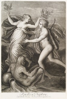 'Loves of the Gods': Apollo and Daphne, by John Smith, after  Titian - NPG D11708