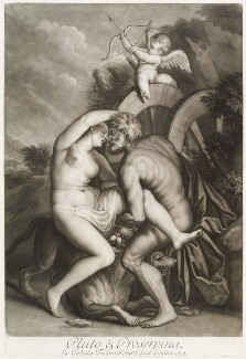 'Loves of the Gods': Pluto and Proserpina, by John Smith, after  Titian - NPG D11710
