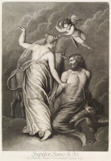 'Loves of the Gods': Jupiter, Juno and Io, by John Smith, after  Titian - NPG D11712