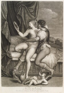 'Loves of the Gods': Mars and Venus, by John Smith, after  Titian - NPG D11713